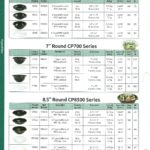 """Anchor Packaging. 8.5"""" Round CP8500"""