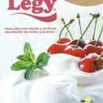 Base de merengue Legy. Ideal para una rápida y perfecta decoración de tortas y postres.