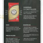 Harinas 3castillos. Beneficios.
